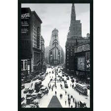 "<strong>Amanti Art</strong> Times Square Framed Print Art - 37.66"" x 25.66"""