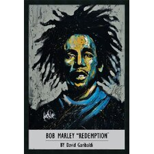 "Garibaldi - Bob Marley by David Garibaldi, Framed Print Art - 37.66"" x 25.66"""