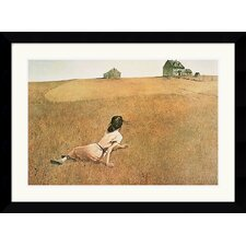Christina's World Framed Art Print by Andrew Wyeth