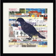'Chirp' by Erin Clark Framed Graphic Art