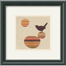 Fly On The Wall Framed Art Print by Amy Ruppel