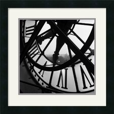 <strong>Amanti Art</strong> Orsay Clock Framed Art Print by Tom Artin