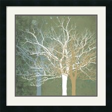 "<strong>Amanti Art</strong> Quiet Forest by Erin Clark Framed Fine Art Print - 22"" x 22"""