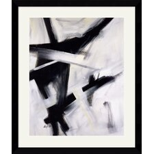 "<strong>Amanti Art</strong> Black and White by Eva Carter Framed Fine Art Print - 38.62"" x 32.62"""