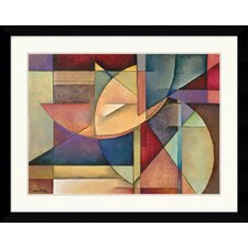 "<strong>Amanti Art</strong> Sections of My Destiny by Marlene Healey Framed Fine Art Print - 30.62"" x 38.62"""