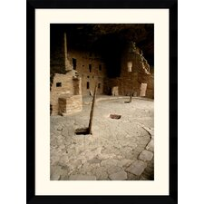 "<strong>Amanti Art</strong> Spruce Tree House by Andy Magee Framed Fine Art Print - 38.62"" x 28.62"""