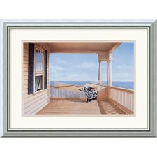 "<strong>Amanti Art</strong> A Summer Place by Daniel Pollera Framed Fine Art Print - 15.99"" x 19.99"""