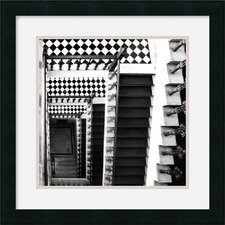 "<strong>Amanti Art</strong> Architectural Detail No. 34 by Ellen Fisch Framed Fine Art Print - 18"" x 18"""