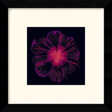 "<strong>Amanti Art</strong> Burst of Crimson Framed Decorative Art Print - 11.12"" x 11.12"""