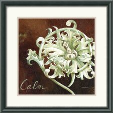 "<strong>Amanti Art</strong> Calm by Maria Woods Framed Art Print  - 17.46"" x 17.46"""