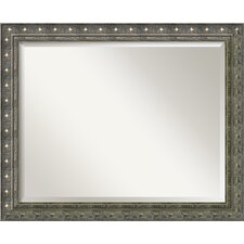 <strong>Amanti Art</strong> Barcelona Large Mirror in Champagne and Pewter