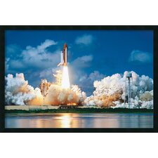 <strong>Amanti Art</strong> Space Shuttle Take-Off Framed Print