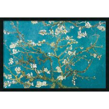 Almond Branches in Bloom, San Remy 1890 Framed Print by Vincent Van Gogh