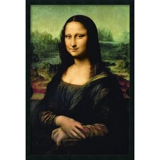 Mona Lisa C.1503-5 Framed Print with Gel Coated by Leonardo da Vinci