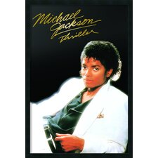 Michael Jackson Thriller Album Framed Print