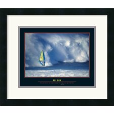 <strong>Amanti Art</strong> Risk Framed Print