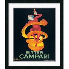 'Bitter Campari' by Leonetto Cappiello Framed Vintage Advertisement