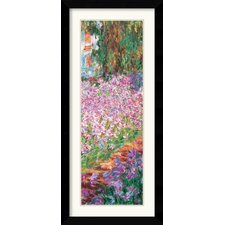 <strong>Amanti Art</strong> Garden in Giverny (Detail) Framed Print by Claude Monet