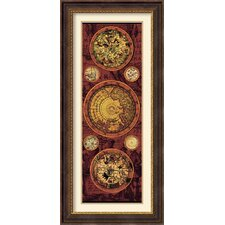 <strong>Amanti Art</strong> Orbis Geographica 1 Framed Print by Max Besjana