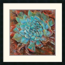 <strong>Amanti Art</strong> Blue Agave II Framed Print by Jillian David Design