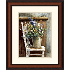 <strong>Amanti Art</strong> Morning Arrangement 1987 Framed Print by Patton Wilson