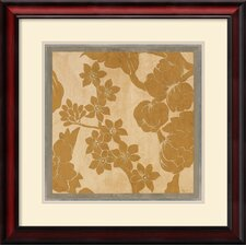 <strong>Amanti Art</strong> Textile One Framed Print by Augustine