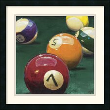 <strong>Amanti Art</strong> Bank Shot Framed Print by Karen Dupre