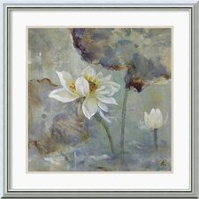 <strong>Amanti Art</strong> Water Lily I Framed Print by Mei