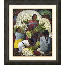 <strong>Amanti Art</strong> The Flower Vendor Framed Print by Diego Rivera