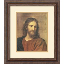 <strong>Amanti Art</strong> Christ at Thirty Three Framed Print by Heinrich Hofmann