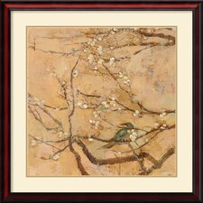 'Birds and Blossoms II' by Jill Barton Framed Painting Print