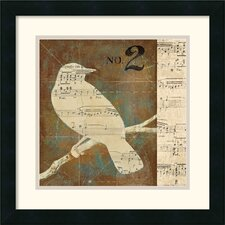 <strong>Amanti Art</strong> Bird Silhouettes I Framed Print by D. Salusti