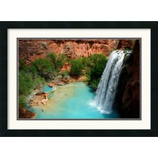 <strong>Amanti Art</strong> Desert Oasis Framed Art Print by Andy Magee