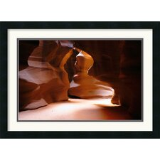 <strong>Amanti Art</strong> Antelope Canyon Passage Framed Print by Andy Magee