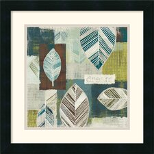 <strong>Amanti Art</strong> Be Leaves III Framed Print by Wild Apple Portfolio