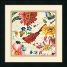 <strong>Amanti Art</strong> Rainbow Garden III Cream Framed Print by Lisa Audit