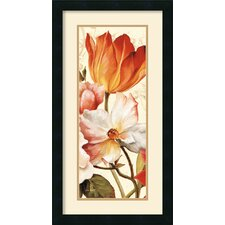 <strong>Amanti Art</strong> Poesie Florale Paneal I Framed Print by Lisa Audit