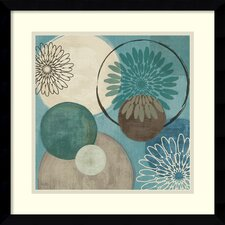 <strong>Amanti Art</strong> Flora Mood I Framed Print by Veronique Charron