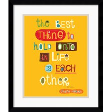 <strong>Amanti Art</strong> The Best Thing Framed Print by Helen Dardik