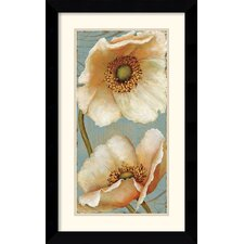 <strong>Amanti Art</strong> Windflower II Framed Print by Daphne Brissonnet