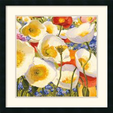 'Sunny Abundance III' by Shirley Novak Framed Painting Print