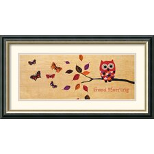 <strong>Amanti Art</strong> Good Morning Owl Framed Print by Wild Apple Portfolio