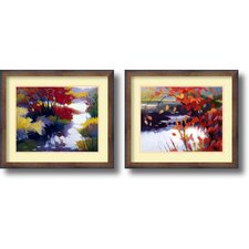 <strong>Amanti Art</strong> Water and Color Framed Print by Tadashi Asoma (Set of 2)