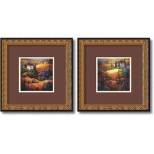 <strong>Amanti Art</strong> Tuscany Framed Print by Nancy O'Toole (Set of 2)