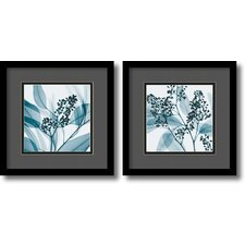 'Gray and Black Eucalyptus' by Steven N. Meyers 2 Piece Framed Photographic Print Set