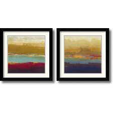 <strong>Amanti Art</strong> Domain Two Framed Print by Craig Alan (Set of 2)