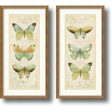 <strong>Amanti Art</strong> Cote Jardin Framed Print by Daphne Brissonnet (Set of 2)