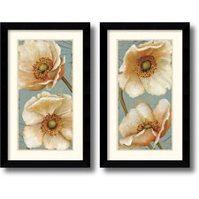 <strong>Amanti Art</strong> Windflower Framed Print by Daphne Brissonnet (Set of 2)