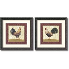 <strong>Amanti Art</strong> Feathers Framed Print by Daphne Brissonnet