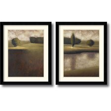 <strong>Amanti Art</strong> Evergreen Framed Print by Vincent George (Set of 2)